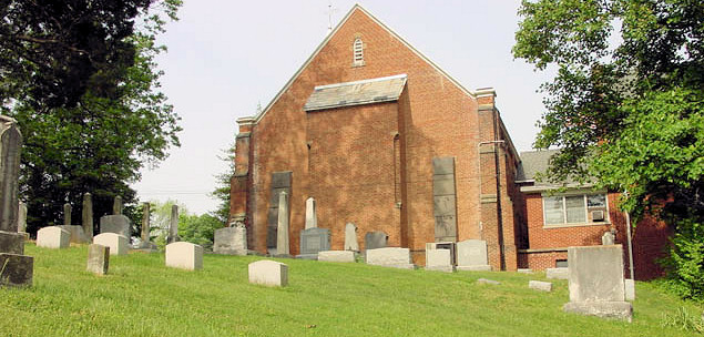 McCutchanville Cemetery with Chapel
